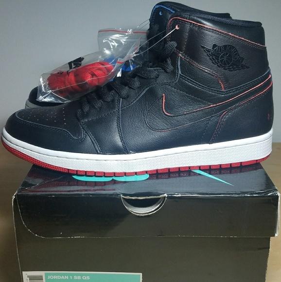 reputable site 7fa29 a4db0 Jordan 1 x Nike SB - Black Lance Mountain